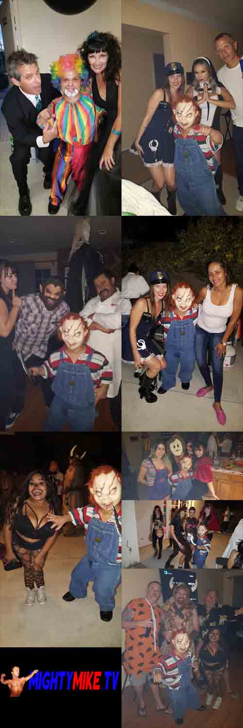 Circus Midgets, Mighty Mike Dwarf Hire, Long Beach, San Padro Wedding, Fire Clown. Halloween Mini Chucky Little people act, house  party hire a Midget. Call/text 1-714-514-5514 or mightymikemurga@me.com